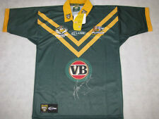 ANDREW JOHNS Hand Signed Australia NRL Jersey Immortal