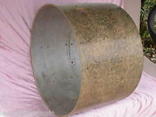 """1960's GRETSCH 22"""" 6-PLY BASS DRUM SHELL 14X22 for SET LOT #R106"""