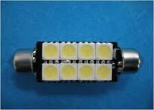 2x Canbus 8 SMD LED Bombilla Luz Interior Festoon Lámpara cw5 42mm libre de errores