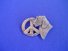 Petit Basset Griffon Vendeen Pin Peace #91C Dog jewelry by Cindy A. Conter