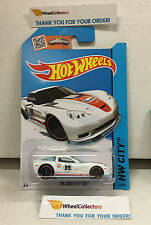 '09 Corvette ZR1 #12 Gulf Tampo * WHITE * Hot Wheels 2015 * W29