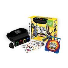 DS Lite Guitar Hero: ON TOUR DECADES Game & GRIP nintendo Handheld COMPLETE KIT