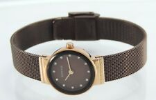BERING Uhr mit Metallband -roségoldfarben Elegant Damen Watch
