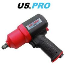 """Us Pro Tools 1/2"""" dr Composite Air Impact Wrench Gun 1286Nm 948ft-lb 8593"""