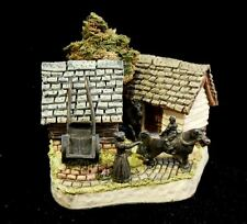 "David Winter 1993 The Shires ""Lancashire Donkey Shed"" Mint in Box with COA"