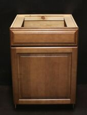 "Kraftmad Cognac Maple Kitchen / Bathroom Vanity Sink Cabinet 30"""