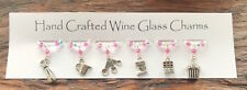 Baking Themed Wine Glass Charms - Christmas Gifts - Stocking Fillers