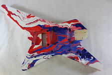 Patriot Swirled Star Destroyer body fits Ibanez (tm) RG and Jem Necks P598