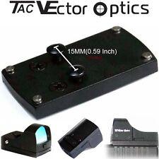 Vector Optics Tactical Red Dot Scope Reflex Sight Pistol GLOCK Slide Mount Base