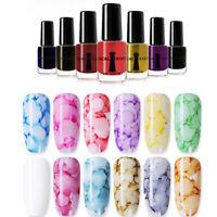 NICOLE DIARY 6ml Nail Polish Gel Varnish Watercolor Ink Marble Nail Art Tools