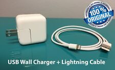 12W USB Wall Charger With Cable For Apple iPad Mini 2 3 4 Air, iPhone 5 6 7 8