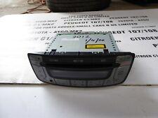 Toyota aygo   Peugeot 107 citroen c1 Radio 2012