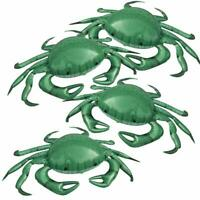 "Jet Creations Inflatable Animals 20"" Wide Pack of 4 Crab, Supplies Party Favors"