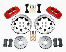 """Wilwood Dynapro 6 Front Hat Kit 12.19"""" Drill Red for Honda / Acura #140-10735-DR"""