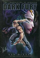 The Chronicles of Riddick Dark Fury Dvd Animated Vin Diesil Cartoon Movie