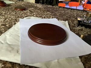 Round Wooden Display Plinth/ Base Diameter 15cm