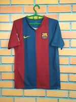 Barcelona Jersey 2006 2007 Home Boys Kids 12-13 years Shirt Football Nike