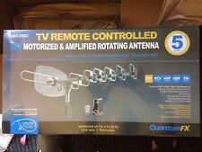 Quantum FX TV Remote Controlled 360 Deg. Motorized Antenna ANT-105U Sealed Box