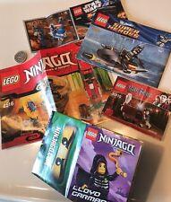 X5 Lots Lego Instructions Promo Ltd Edt Sets STAR WARS HARRY POTTER BATMAN