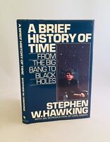 A Brief History Of Time-Stephen W. Hawking-First Edition/1st Printing!!-RARE!!