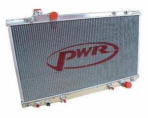 PWR Radiator 42mm fits Toyota Aristo JZS147 Manual 1991-97 PWR6334