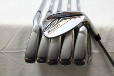 Used RH Cobra King F7 6-GW Iron Set - Cobra Stiff Flex Steel Shafts Used RH***