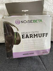 NoiseBeta Heavy Duty Protective Ear Muffs Model 6250