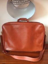 -AUTHENTIQUE sac de voyage/week-end  LANCEL  cuir TBEG vintage  bag