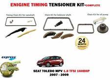 Para Seat Toledo 1.8 TFSI MPV 2007-2009 Kit de Cadena Temporizador + Bomba