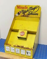 Vintage Miracle Black Magic Adhesive Store Display