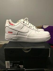 Nike x Supreme Air Force 1 White Brand New CU9225 100 8.5 9 9.5 10 FREE SHIPPING
