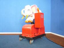 Seltener Rummelplatz Elefant Kinder Spielautomat 60er funktionstüchtig