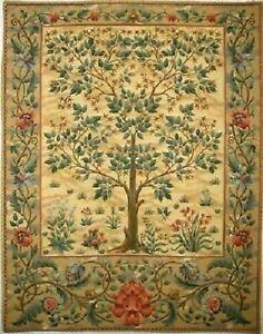 "TREE OF LIFE WILLIAM MORRIS DESIGN TAPESTRY WALL HANGING 57"" X 37"", 144CM X 94CM"