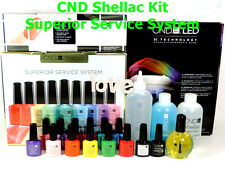 CND Gel Color SUPERIOR SERVICE SYSTEM & LED Lamp *Start & Finish Kit