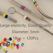 FDA Dental Instrument Color CODE RING Band Autoclavable Small Asstd 120Pcs/PK