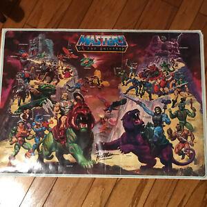"Original NOT REPRO He-Man ""Masters of the Universe"" POSTER 1984 Rare Large MOTU"