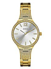 Guess  Ladies Dressy Gold-Tone Stainless Steel Watch - U0900L2