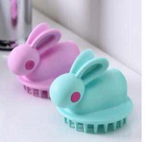 Head Body Scalp Massage Silicone Shampoo Scalp Hair Massager Hair Washing Comb