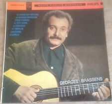 "GEORGES BRASSENS no.1 FRENCH PHILIPS 1963 MONO 10"" VINYL CHANSON RE LP"
