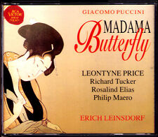 Puccini: Madama Butterfly Leontyne Price Richard Tucker Elias lessile villaggio 2cd 1962