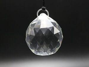 K9 Clear Crystal Faceted Ball Prism Suncatcher 20mm 30mm 40mm Feng Shui