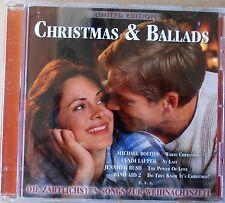 Christmas & Ballads - Die zärtlichsten Songs zur Weihnachtszeit - CD neu & OVP