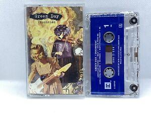 GREEN DAY INSOMNIAC RARE PUNK CASSETTE '95 REPRISE BLINK 182 NOFX OFFSPRING OOP