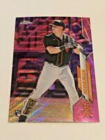 2020 Topps Chrome Update Baseball Pink Refractor - Tyler Heineman RC - Giants