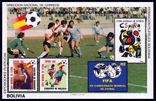 Bolivia bl. 124 **, fútbol WM 1982