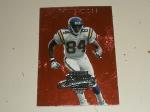 1998 Playoff Contenders Rookie Stallions #11 Randy Moss Rookie RC