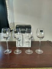 Set of 4 Vintage Royal Worcester Grand Chateau Liqueur Glasses