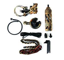 TIRO con l'arco ARCO COMPOUND Combo accessori Fiocco KIT Stabilizzatore vista Sling FRECCIA riposo