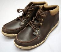 New $110 The North Face Shoes Brown Leather Mens Size 11 NEW Without Box