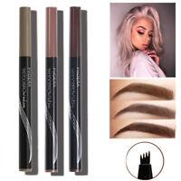 PHOERA 4 Fork Fine Liquid Eyebrow Ink Pencil Long Lasting Brow Enhancer
